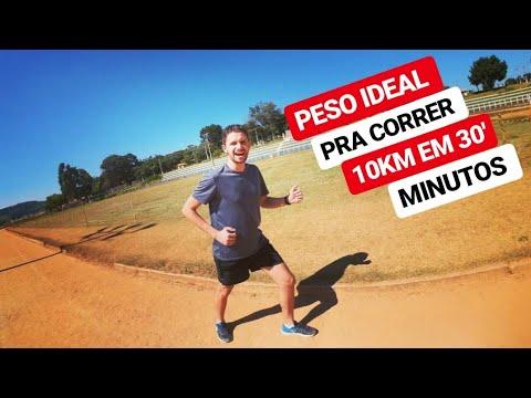 QUAL O PESO IDEAL PRA CORRER BEM