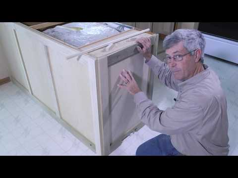 Kreg Kitchen Makeover Series Part 8: How To Update a Kitchen Bar with Wainscoting