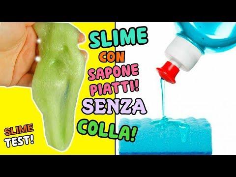 5 SLIME CON SAPONE PIATTI! SENZA COLLA! (RICETTE SUGGERITE DA VOI!) SLIME TEST! Iolanda Sweets