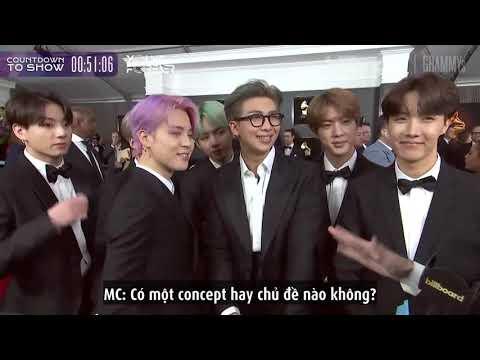 [VIETSUB] Interview with Billboard  BTS at Grammys