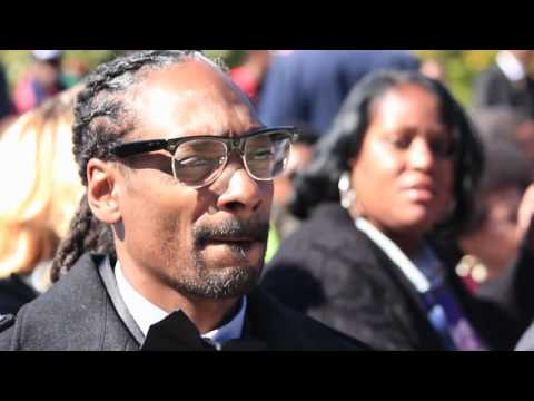 Snoop Dogg Million Man March #JusticeOrElse