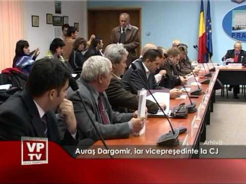 Auraş Dargomir, iar vicepreşedinte la CJ