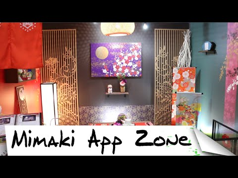 Mimaki Application Zone at SGIA 2015