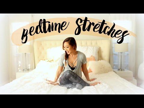 캐시언니의 침대위 스트레칭!