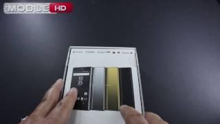 فتح علبة سوني اكسبيريا زد5 بريميوم اللون الكرومSony Xperia Z5 Premium