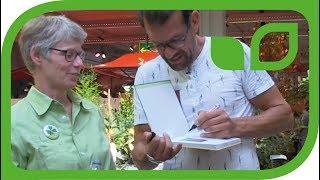 Fernsehgärtner Karl Ploberger - Eindrücke im Gartencenter in Zürich