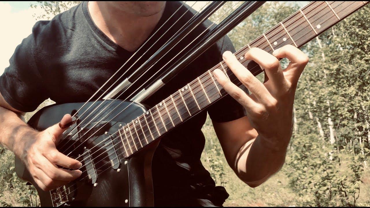 Relaxing Nights – Electric Harp Guitar – (New Album 2019) – Jamie Dupuis
