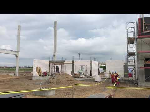 Wideo1: Budowa centrum logistycznego TB Logistics w Maryszewicach
