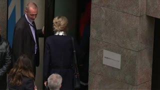 Video Brigitte Macron arrives at her husband's campaign HQ MP3, 3GP, MP4, WEBM, AVI, FLV September 2017