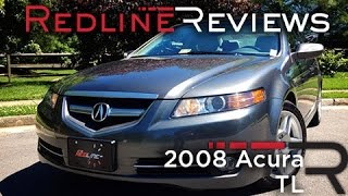 2008 Acura TL Review, Walkaround, Exhaust&Test Drive