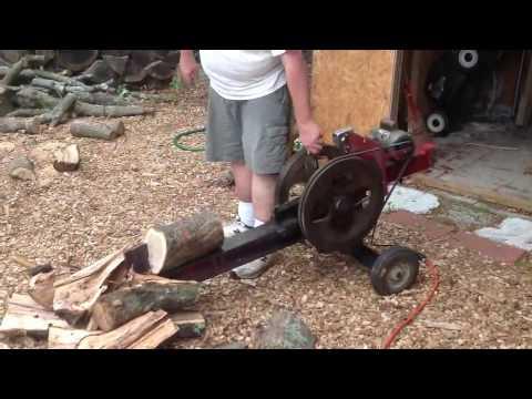 Самодельный реечный дровокол своими руками