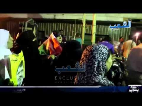 """رسالة نارية من ثوار الجيزة: """"إسلامية إسلامية مش هانسيبها للحرامية"""""""