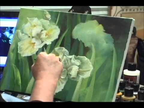 flower painting - To purchase your individual copies visit the following link: http://store.artapprenticeonline.com/categories/eMagazine/ Painting Flowers . This is a short cl...