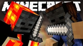 THE HUNGER GAMES ASSASSINS! (Minecraft Hunger Games Classes with Preston and Woofless!) FINAL