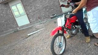 5. First time riding a dirt bike ever !
