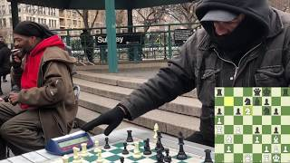 Video $3 Game with Chess Hustler - NYC Chess Hustling MP3, 3GP, MP4, WEBM, AVI, FLV Juni 2018