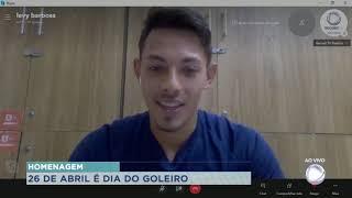Levy do Desportivo Brasil homenageia jogadores no dia do goleiro