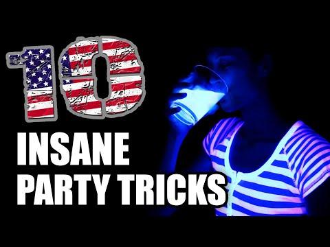 【酷】Top 10 Party Tricks for 2014