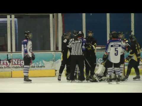 Peterborough v Milton Keynes under 15s ice hockey match 23 4 2017