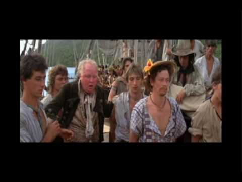 bounty - Lieutenant William Bligh (Anthony Hopkins) tries to keep his crew in control. Anthony Hopkins and Mel Gibson are obviously easy to notice. But see if you can...