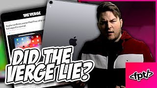 They LIED about the Apple & iPad Pro