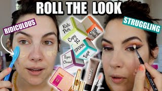 ROLL THE LOOK Makeup Challenge Episode 1: Goodbye Comfort Zone! by Beauty Broadcast
