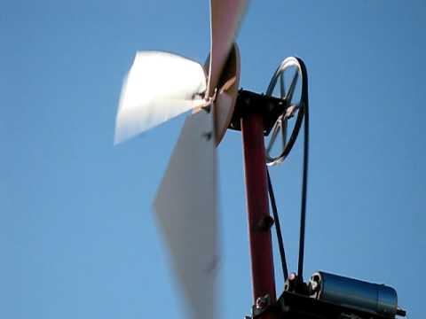 trusted: Making windmill water pump