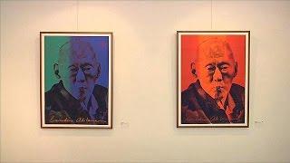 Lübnanlı sanatçıdan Singapur'un efsanevi lideri anısına sergi