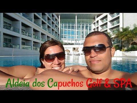 Hotel Aldeia dos Capuchos Golf & SPA - Caparica, Portugal. 2017