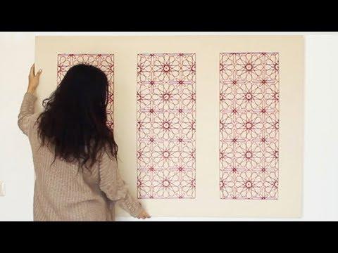 12 Fold Rosette - Sacred Geometry String Art/Embroidery