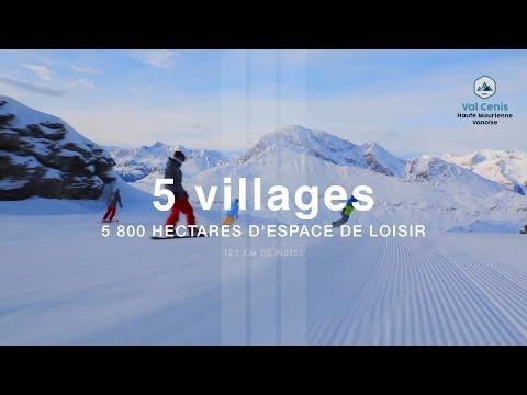 Val Cenis, 1 station 5 villages