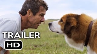 A Dog's Purpose Official Trailer #1 (2017) Josh Gad, Britt Robertson Comedy Movie HD