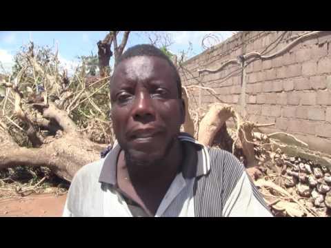 Cyclone Matthew: Des dégâts dans la commune de Cavaillon au Sud d'Haïti