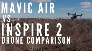 Video Mavic Air vs Inspire 2 Comparison - $6,000 drone vs $800 drone MP3, 3GP, MP4, WEBM, AVI, FLV November 2018