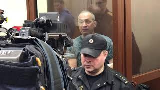 Александр Шестун не согласен с решением суда о продлении меры пресечения