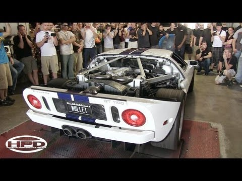 Ford GT – Twin Turbo, Supercharged and Nitrous!