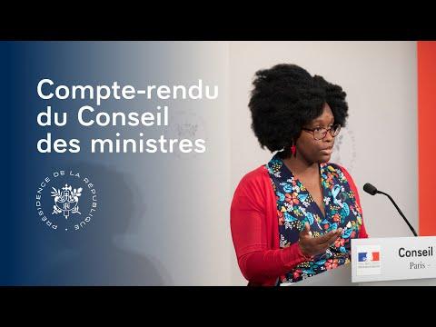 FRANCE: Conseil des ministres du mercredi 12 juin 2019