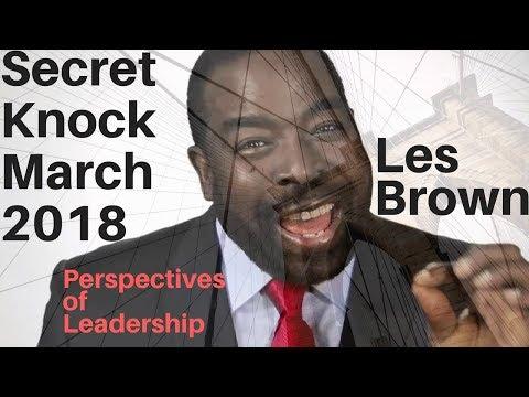 Leadership quotes - Les Brown on leadership - Secret Knock 2018