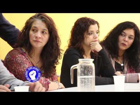 Conferencia por Cruce de Aguas Argentino, Union de Gremios presento su partido y Quimicos y petroquimicos quieren participar de elecciones