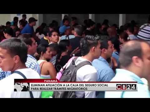 Eliminan afiliación al Seguro Social para realizar trámites migratorios en Panamá