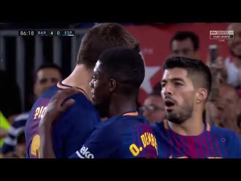 Barcelona vs Espanyol 5 0   All Goals  Highlights   9 september 2017 HD