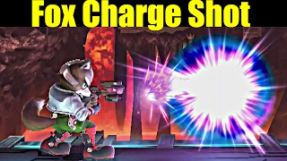 What If Fox Could Shoot Samus' Charge Shot in Super Smash Bros Wii U
