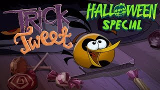 "Video Angry Birds ""Trick or Tweet"" 