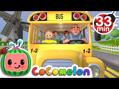 Wheels on the Bus | +More Nursery Rhymes & Kids Songs - Cocomelon (ABCkidTV) - Thời lượng: 32:56.
