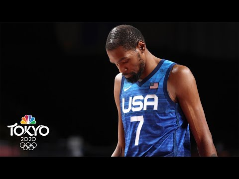 France hands Team USA first Olympic basketball loss since 2004 | Tokyo Olympics 2020 | NBC Sports