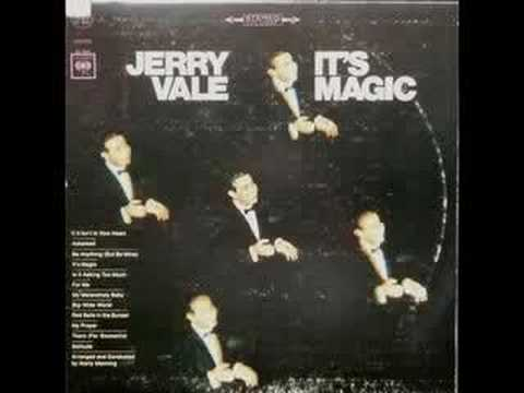 Tekst piosenki Jerry Vale - It's Magic po polsku