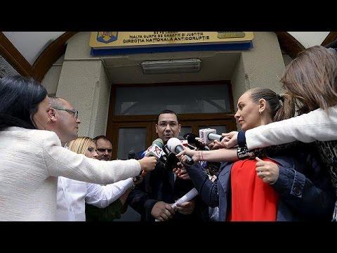 Ρουμανία: Διαδήλωση εναντίον του πρωθυπουργού, Πόντα