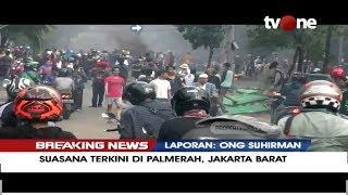 Download Video [BREAKING NEWS] Suasana Terkini di Jl. MH. Thamrin - Palmerah - Petamburan (22/5/2019) MP3 3GP MP4