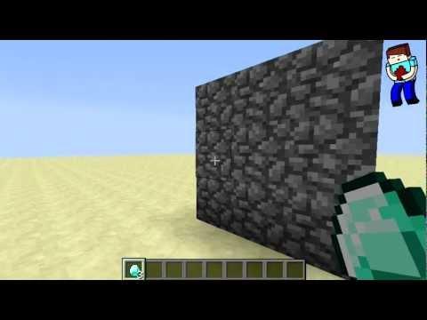 [Minecraft] Урок 55: Как подобрать ЛУТ сквозь стену! + УГАР!