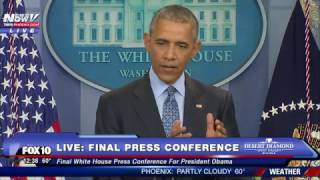 FULL VIDEO: President Obama's FINAL Press Conference at the White House